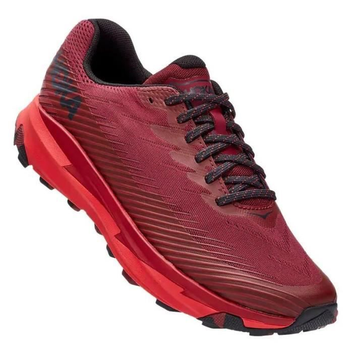 Basket Trail Hoka Torrent 2 Homme rouge