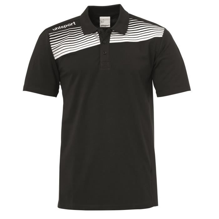 Polo junior Uhlsport Liga 2.0 - noir-blanc - 14 ans