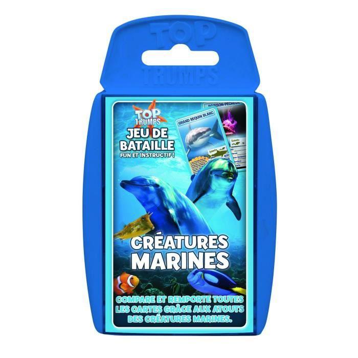 WINNING MOVES Jeu De Cartes - Créatures Marines