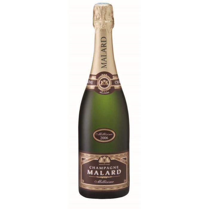Champagne Malard Millésimé Brut - 75 cl