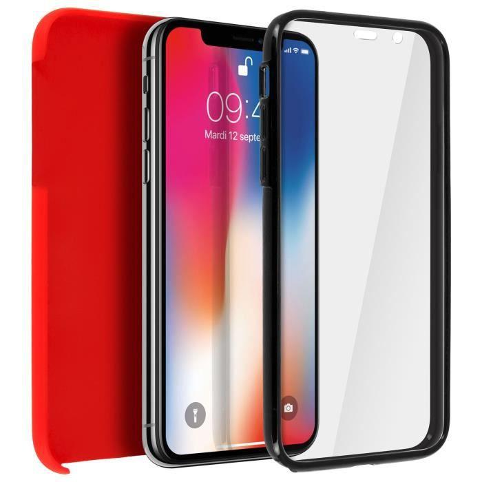 Etui Coque 360 Rouge iPhone XR - iPhone 10R