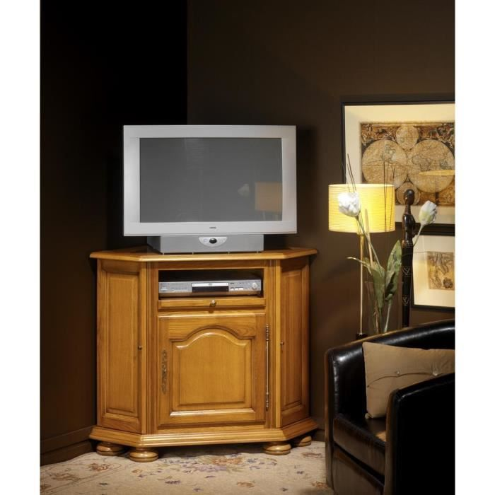 meuble tv design laque noir pivotant max v2. Black Bedroom Furniture Sets. Home Design Ideas