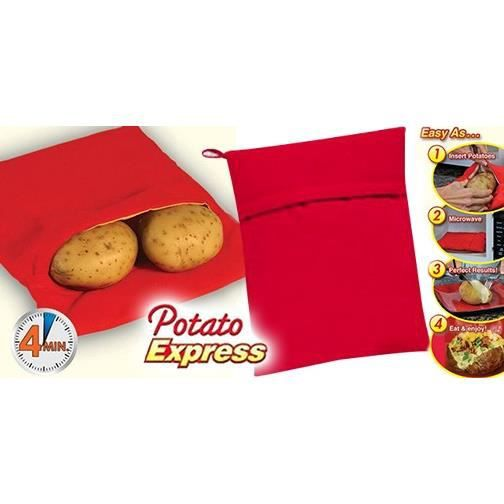 Sac de cuisson micro onde patate express en 4mn achat for Cuisson betterave micro onde