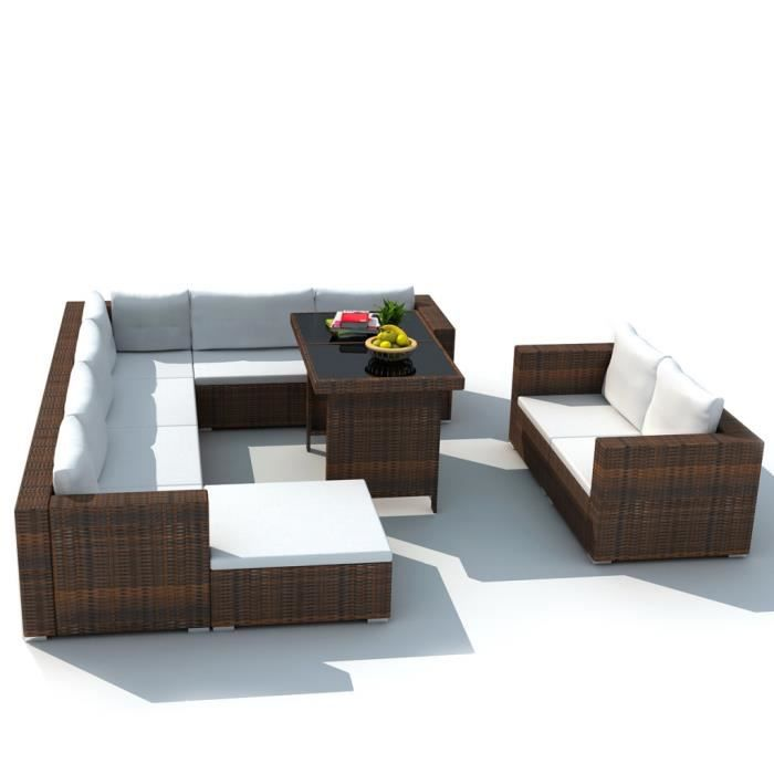 Best Salon De Jardin Modulable Siena Polyrotin Contemporary ...