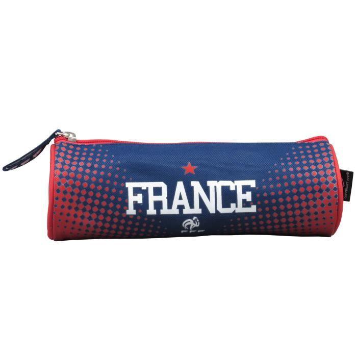 Collection Officielle Equipe de FRANCE de football Trousse Scolaire FFF