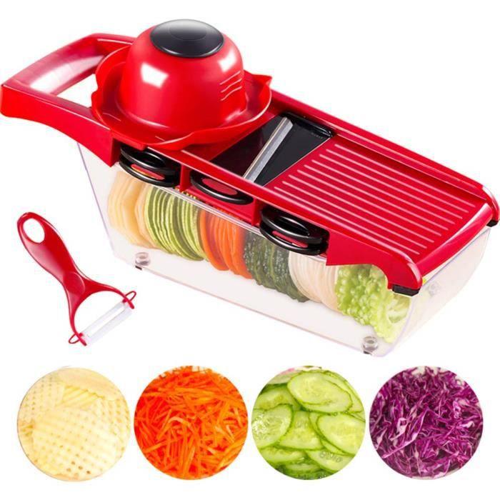 Cuisine légumes Cutter outils de coupe en acier inoxydable couteau râpes