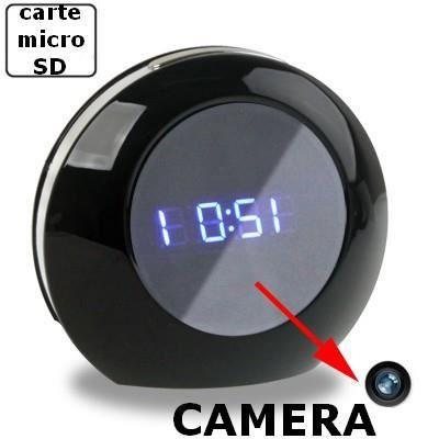 Camera Espion Modele Radio Reveil Miroir Telecomm Achat Vente Camera Miniature Cdiscount