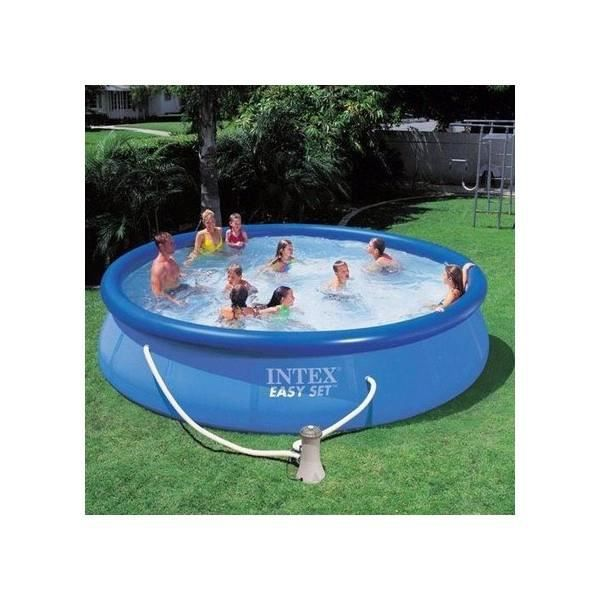 Piscine hors sol autoport e intex 5 m 49 achat vente for Piscines autoportees