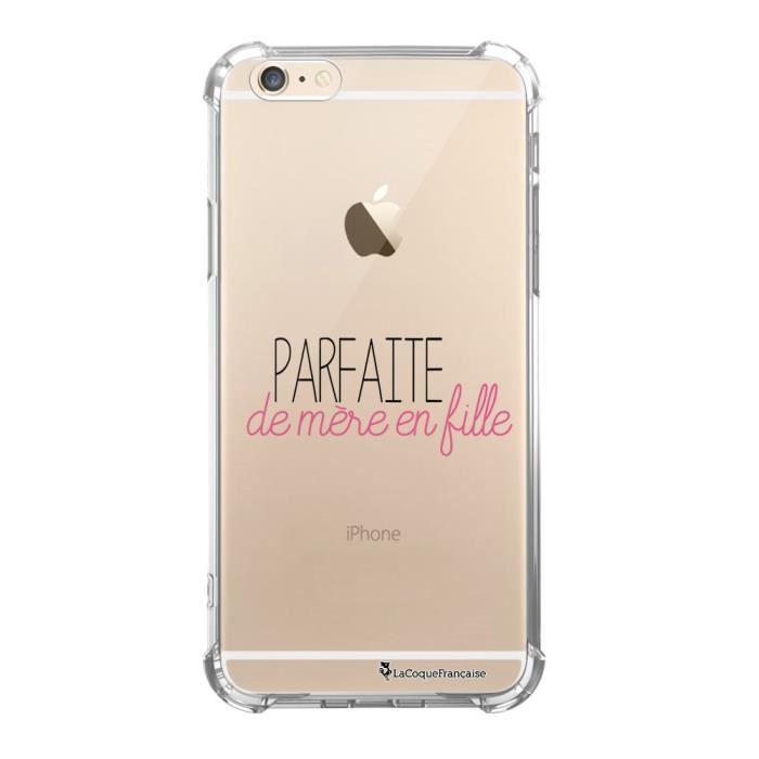 Coque iPhone 6 iPhone 6S silicone anti-choc souple