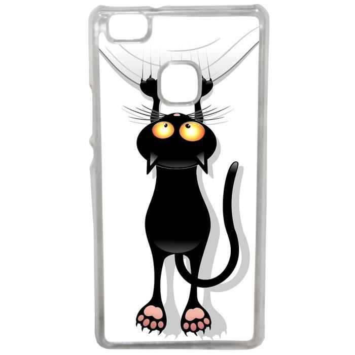 coque huawei p9 lite chat