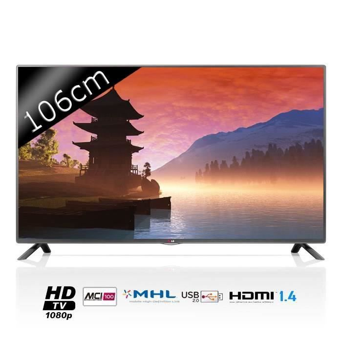 lg 42lb5610 tv led full hd 107cm t l viseur led prix. Black Bedroom Furniture Sets. Home Design Ideas