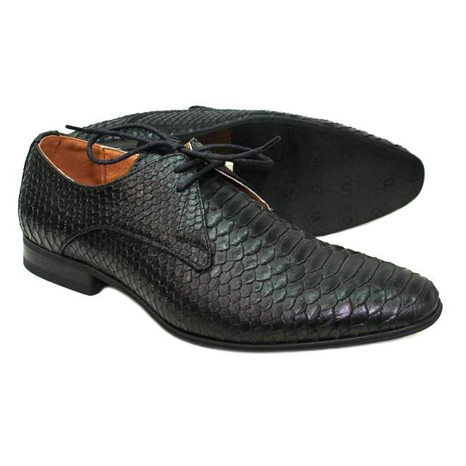 chaussures homme croco noire achat vente richelieu. Black Bedroom Furniture Sets. Home Design Ideas