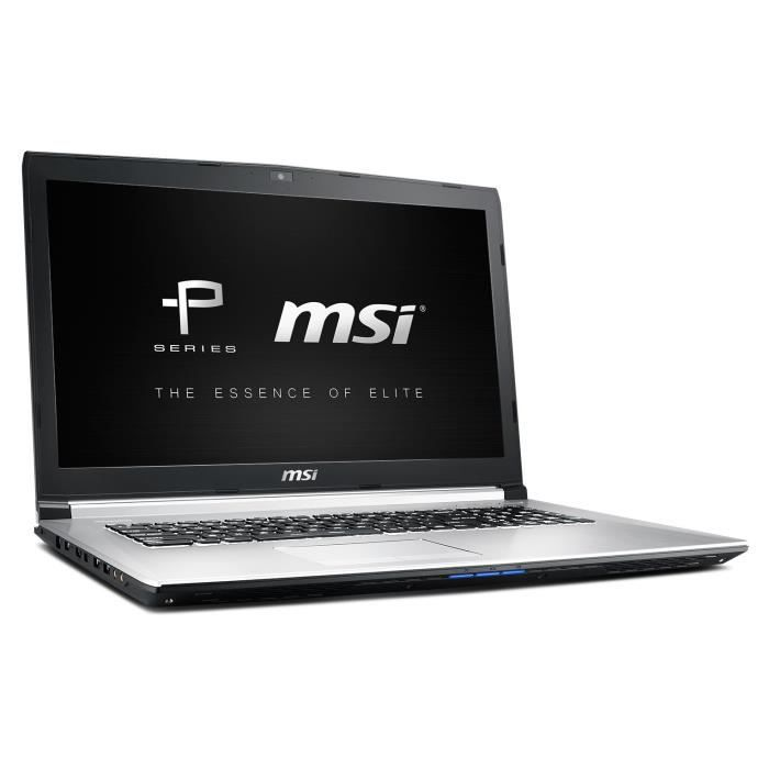 msi pc portable gamer pe70 6qe 239fr 17 3 full hd. Black Bedroom Furniture Sets. Home Design Ideas