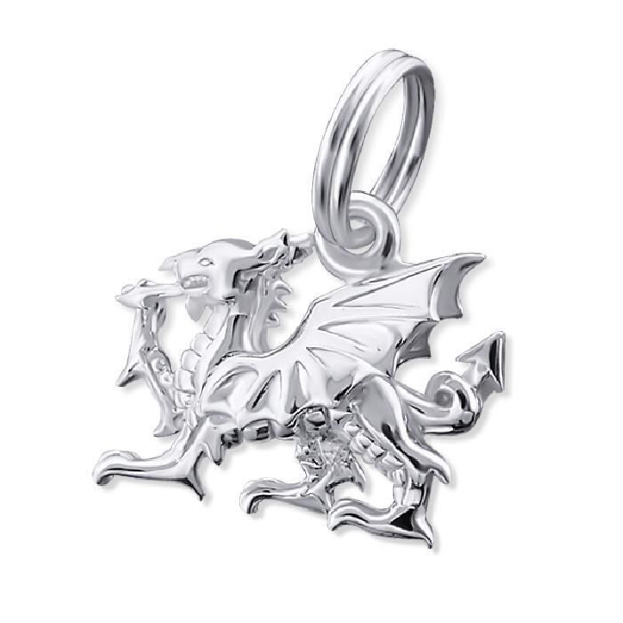 Charm Pampille Dragon Argent 925