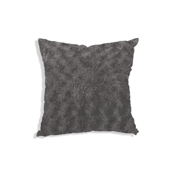 housse de coussin 40x40 cm alaska gris achat vente. Black Bedroom Furniture Sets. Home Design Ideas