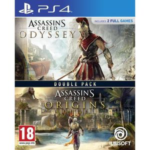 JEU PS4 Compilation Assassin's Creed Origins + Assassin's