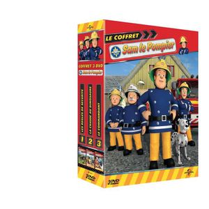 DVD DESSIN ANIMÉ COFFRET DVD SAM LE POMPIER 3 DVD