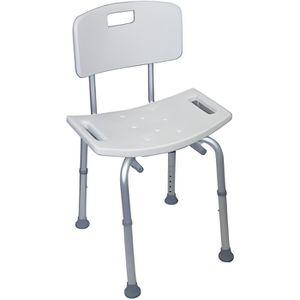 ASSISE BAIN - DOUCHE  Chaise de Douche avec Dossier