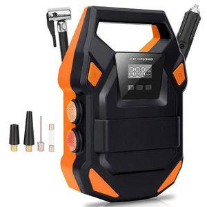COMPRESSEUR 12V Boomersun Compresseur d'air Portable Voiture Autom