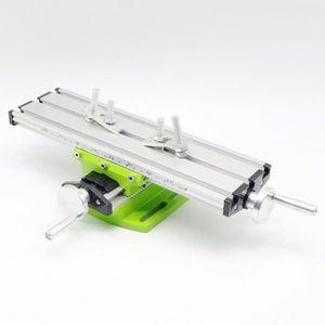 310x90 mm Compound Banc De Forage De Glissi/ère Table De Travail Fraisage De Croix Fraisage Machine Pour Banc Mini Multifonction Fraisage Table de Travail