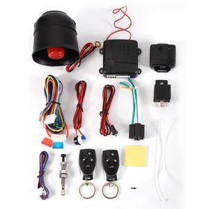 ALARME VEHICULE Kit complet Alarme de voiture Système de sécurité