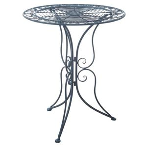 Table de jardin ronde metal achat vente table de for Table de jardin metal pas cher