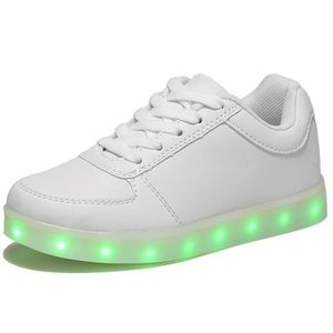 BASKET Basket Chaussures LED Lumineuse 7 Couleu USB Charg