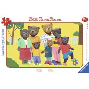 PUZZLE RAVENSBURGER Puzzle cadre 15 p - Photo de famille