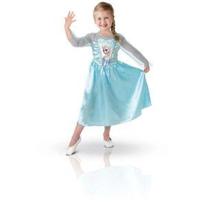 DÉGUISEMENT - PANOPLIE Costume  elsa reine des neiges taille 5/6 ans