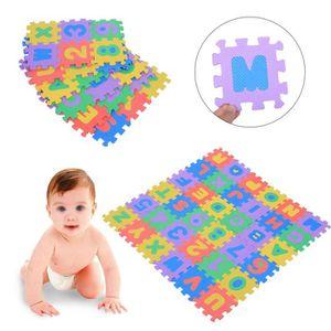 TAPIS DE JEU Tapis de jeu bébé ramper mat Lettre + numéro tapis