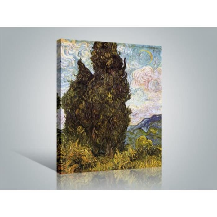 vincent van gogh poster reproduction sur toile tendue sur. Black Bedroom Furniture Sets. Home Design Ideas