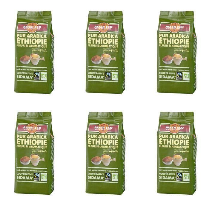 ALTER ECO Café Ethiopie 100% Arabica Bio 260g