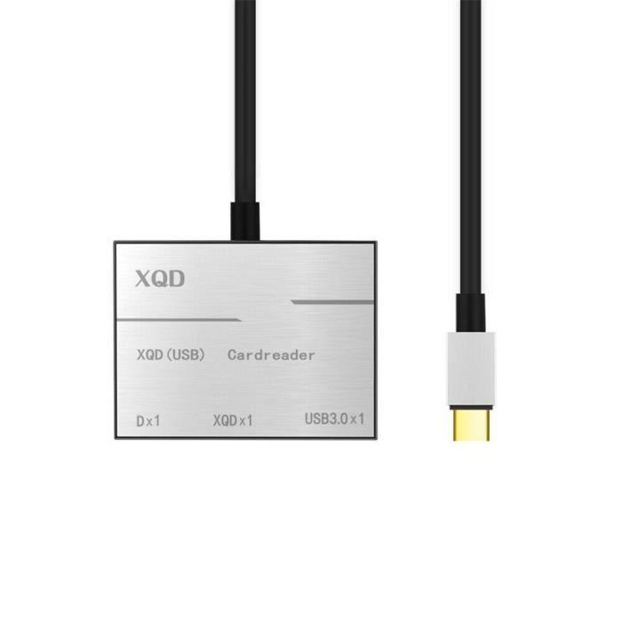 Caméra Xqd Carte mémoire Sd Lecteur de type C Hub Adaptateur pour toutes les séries de la caméra_coierbr2299