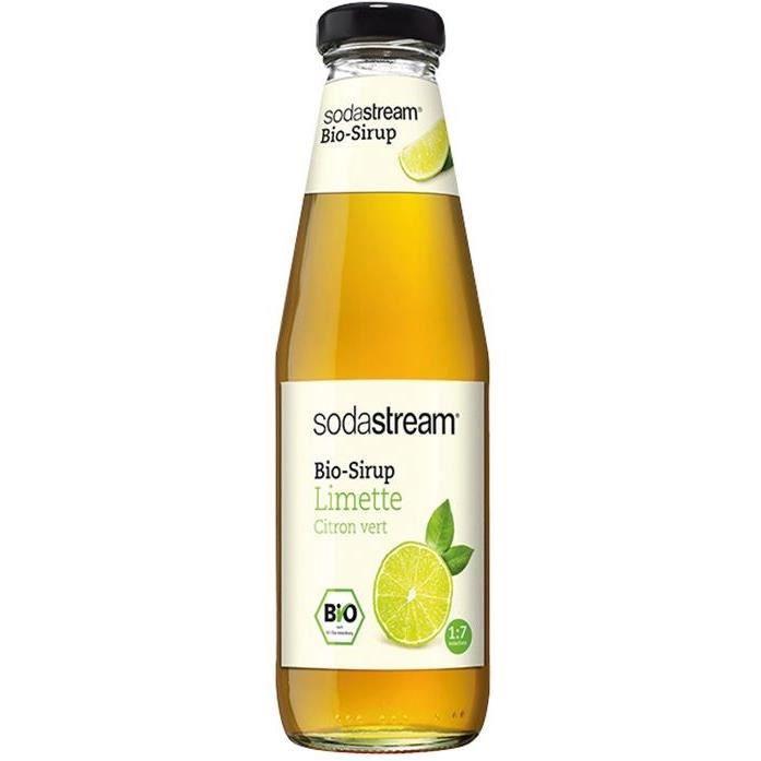SODASTREAM 30011347 - Sirop Sodastream Bio Citron Vert - 500 ml