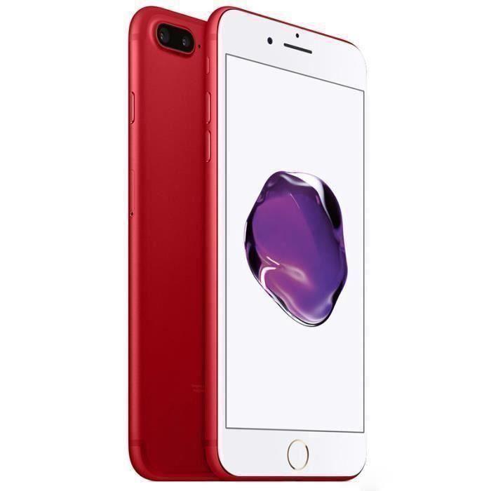 iPhone 7 Plus rouge
