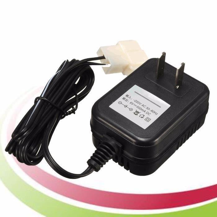 Chargeur AC Adaptateur Pr 6V Batterie Enfant TRAX ATV Quad Ride On Voiture Moto SA45625
