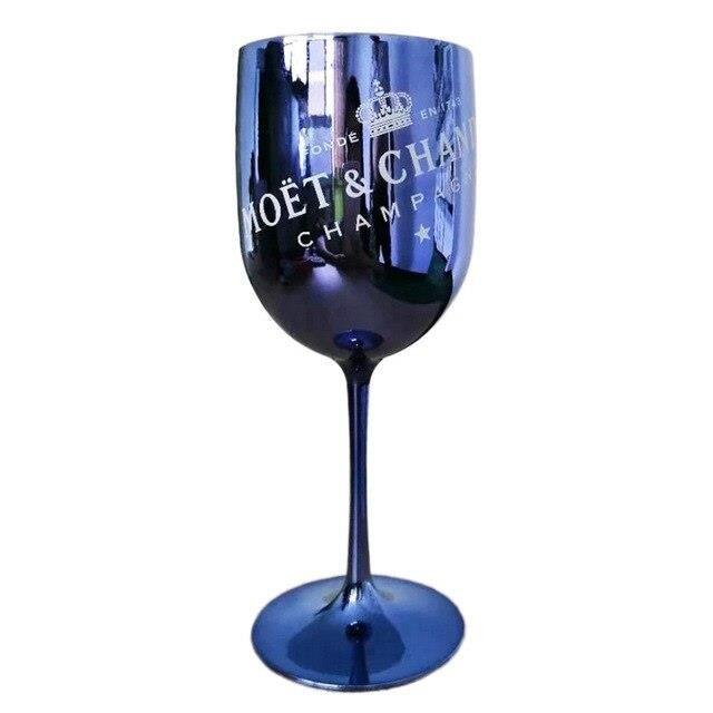 2 pièces Coupes de Champagne Cocktail verre seau à glace Chandon vin bière Partyfor 3L acrylique blanc seaux à glace ref*DE1452