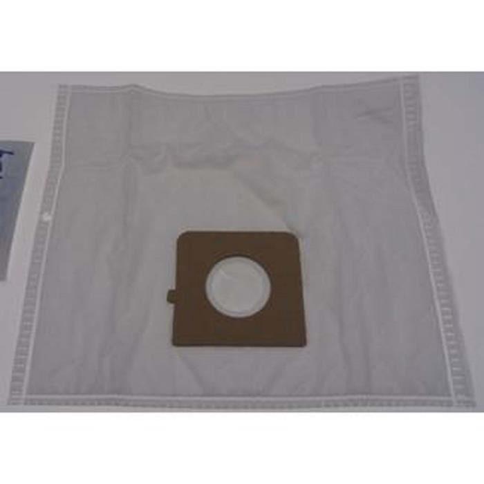 Boîte de 5 sacs microfibres - Aspirateur - BLUESKY, BOMANN, BSK, CLATRONIC, FAR, HOLLAND ELECTRO, LG, MOULINEX, PROLINE, TEKVIS