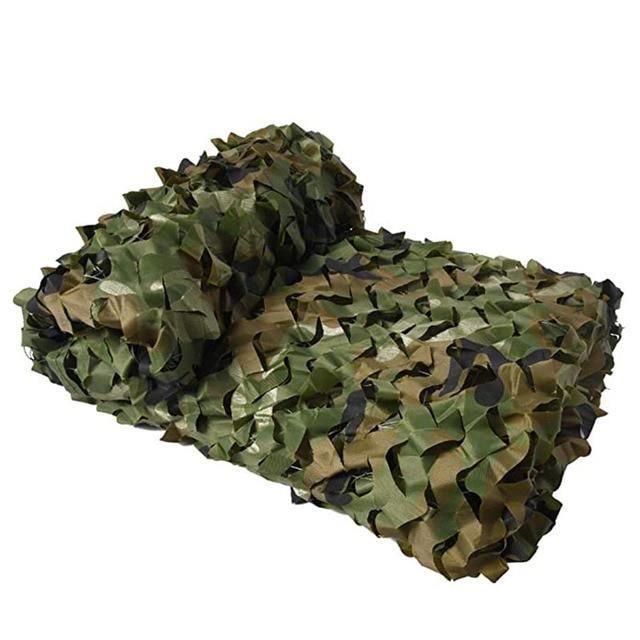 Voile d'ombrage,Militaire filets de camouflage, bâche de camouflage filets léger auvents, - Type Jungle camouflage-4 X 6M
