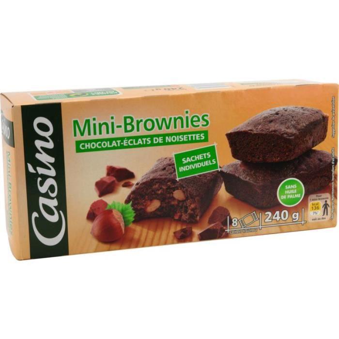 Mini Brownies Noisette 240 g