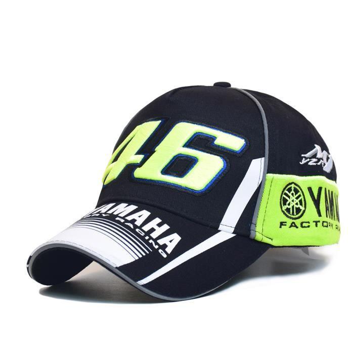 MOTO GP 46 Moto 3D brodé F1 Courses Cap Men Snapback Casquettes Rossi VR46 Baseball Cas YAMAHA Chapeaux