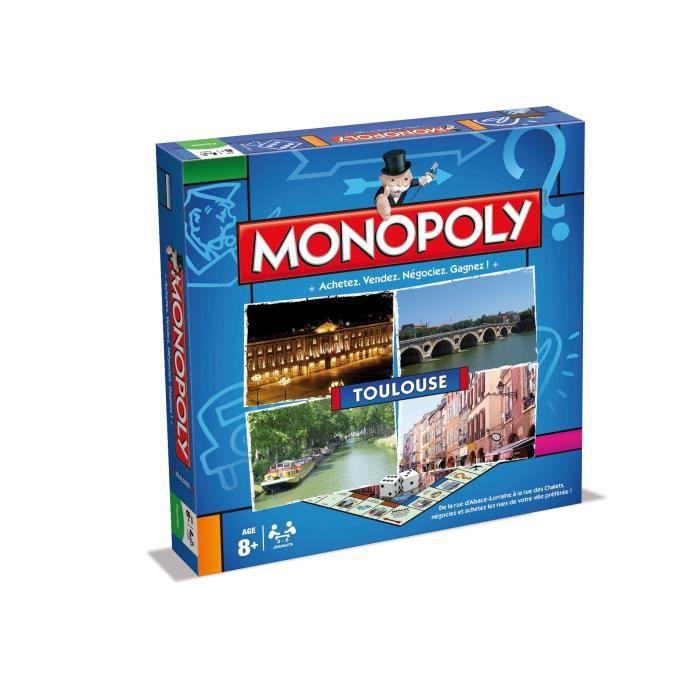 MONOPOLY Toulouse - Jeu de societé - Version française