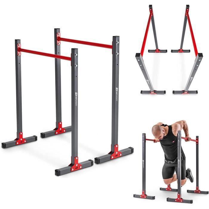 HS Hop-Sport, Barres parallèles réglable HS-1011K + gants GRATUIT