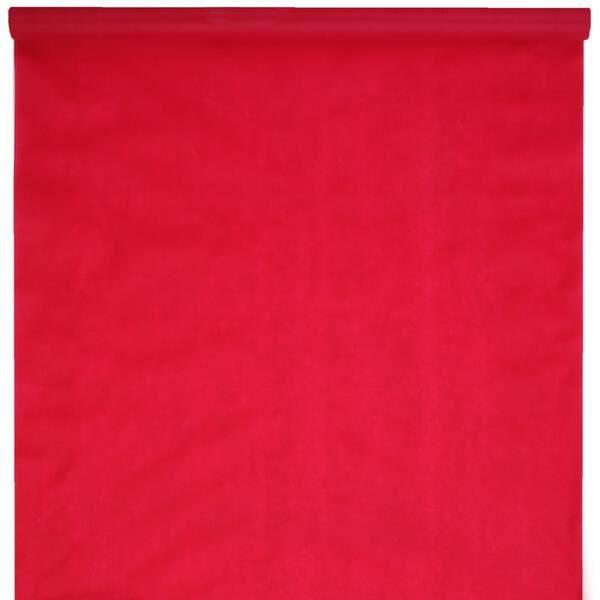 Tapis de cérémonie rouge 1m x 15m (x1) REF/5481