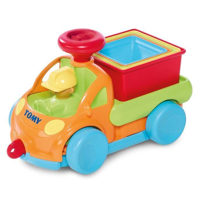 TOMY Ma Camionette Pyr'amuse - Jouet bébé