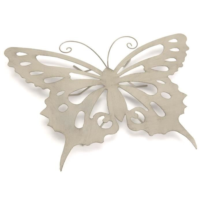 papillon mural en m tal achat vente objet d coration On decoration murale papillon