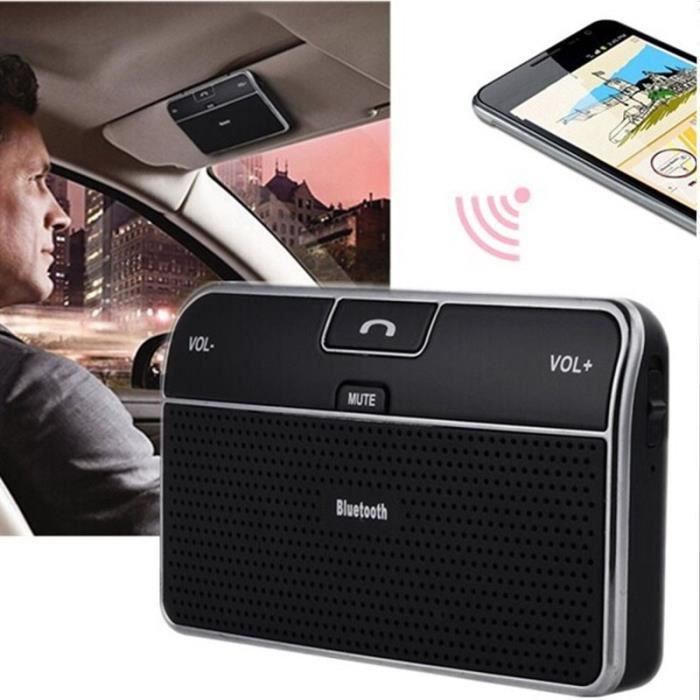 kit main libre voiture bluetooth de pare soleil achat vente kit bluetooth t l phone kit main. Black Bedroom Furniture Sets. Home Design Ideas