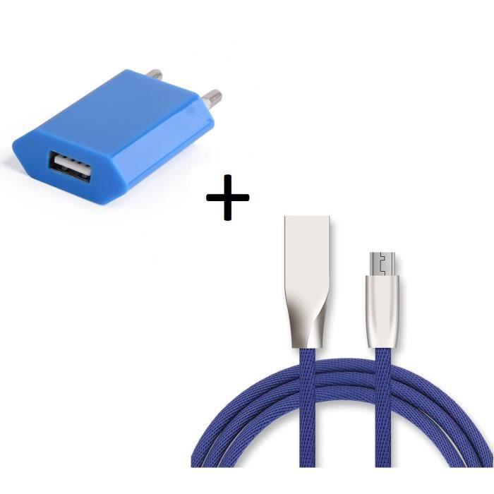 wholesale how to buy quality design Cable casque beats bleu