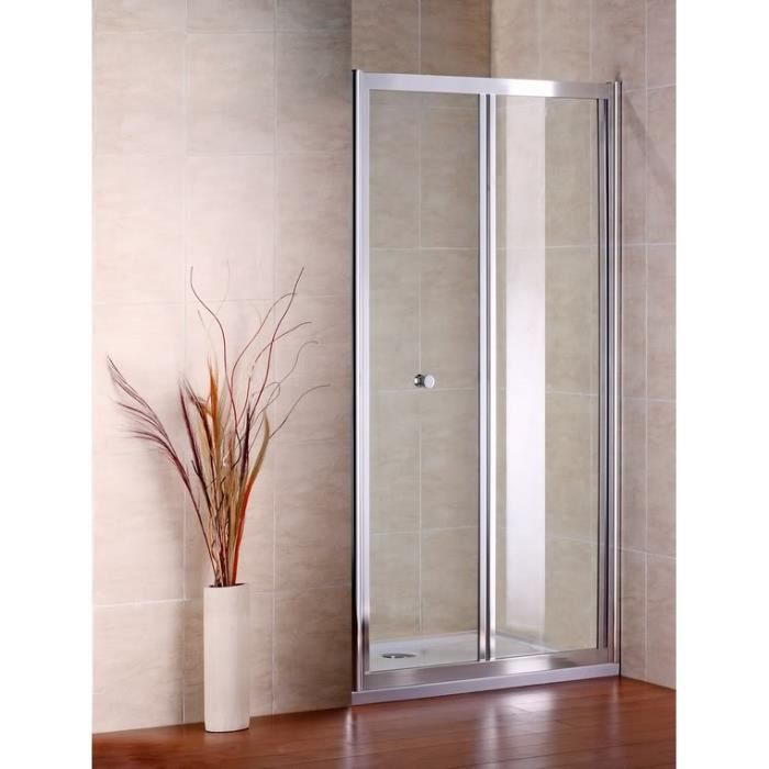 80 185cmshower door porte de douche pliante verre de for Porte pliante d interieur