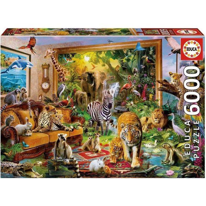 PUZZLE EDUCA Puzzle 6000 En Entrant Dans La Chambre